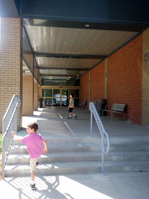 Franklin Avenue Library East Entrance