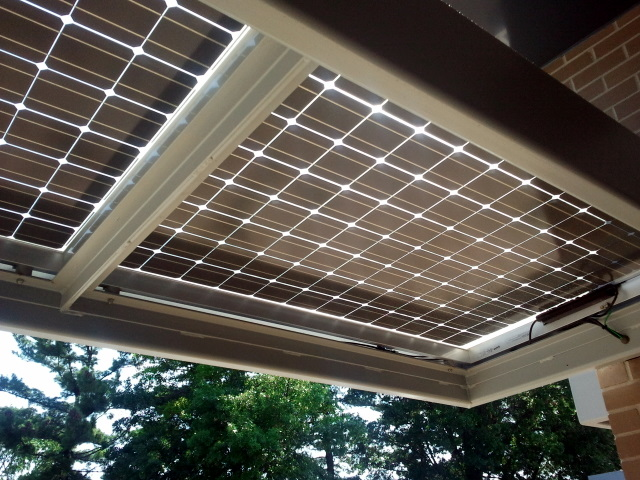 Franklin Avenue Library PV Panels
