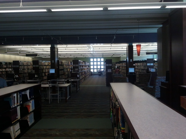Franklin Avenue Library Main Stacks Area