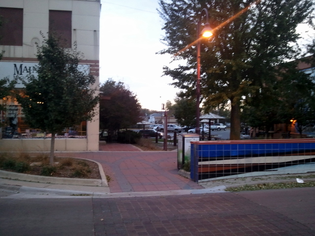 Pedestrian Access to Ames Main Street Through a Pocket Park