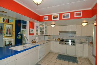 Hud and Ellen Weeks Home - Double Lustron Kitchen