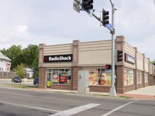 Storefront Decoration at University Ave. Radio Shack