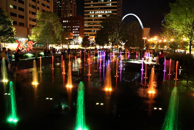 Citygarden, Downtown St. Louis