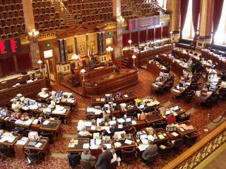 Iowa Senate Chamber