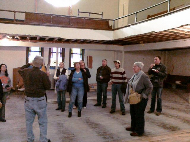 Des Moines Rehabbers Club meeting at Trinity Church