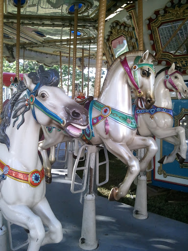 Carousel: Carousel in downtown Delray Beach, FL.