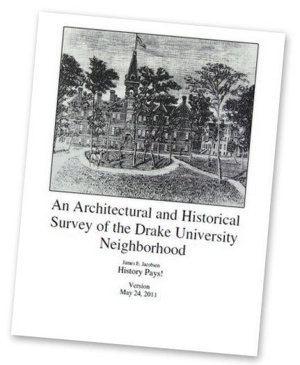 Drake Neighborhood Historic Survey Cover