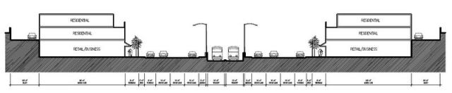 Mixed-Use Complete Streets Replacement for Interstate 235