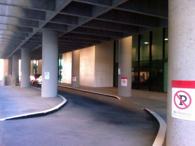 Walking Up to the American Cancer Society (atlanta)