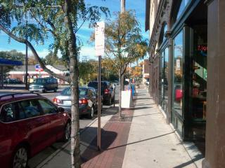 Pedestrian-Friendly Street in Cleveland Heights