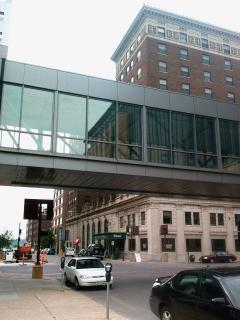 Downtown Skywalk at Hotel Fort Des Moines