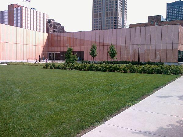 Des Moines Public Library Westest Entrance