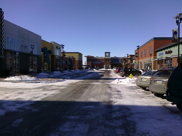 "West Glen ""New Urban"" Streetscape"