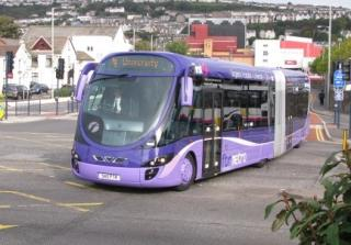 Bus Rapid Transit (via Wikimedia Commons)