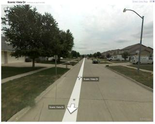 Scenic Vista Drive: From Google Street View